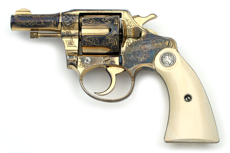 Colt Pistols and Revolvers for Firearms Collectors - Police Positive ...