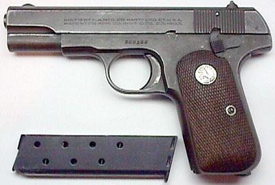 Colt 1903 Pocket Hammerless Military U S  PROPERTY Marked