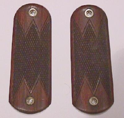 Colt Model 1900 .38 ACP Deluxe Hand Checkered Walnut Grips