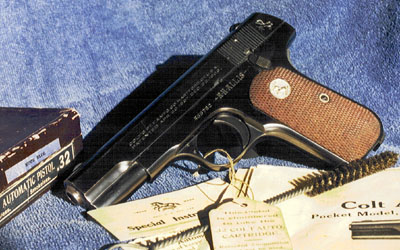Factory Inscribed Model M .32 ACP