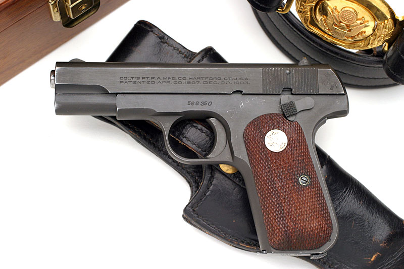 Colt 1903 Pocket Hammerless .32 ACP Military Pistol Issued to ...