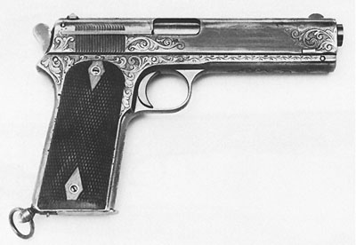 "Early Factory Engraved Model 1905 Inlaid ""P.H.M."""