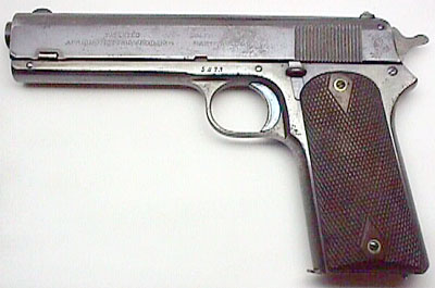 Inscribed Colt Model 1905 .45 ACP
