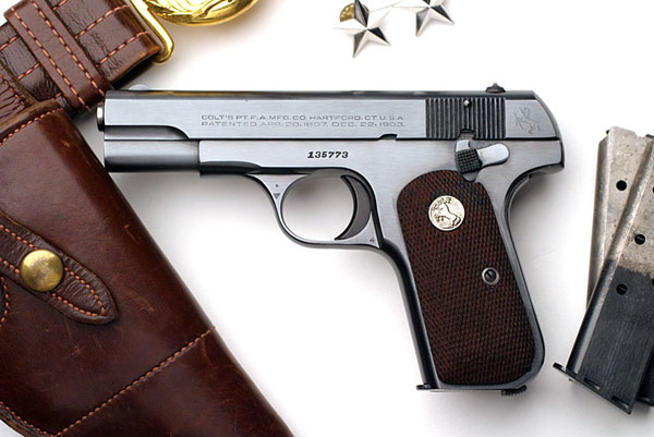 Colt Model 1908 U.S. PROPERTY .380 ACP issued to Major Gen. Albert Eger Brown