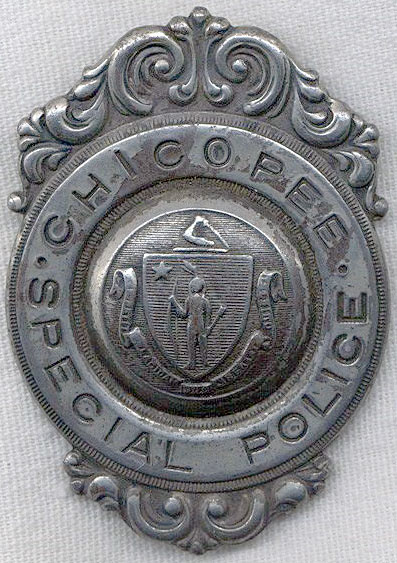 Chicopee Special Police Badge