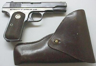Model M .380 marked Property of United Air Lines