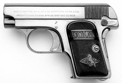 Colt Model N serial number 2
