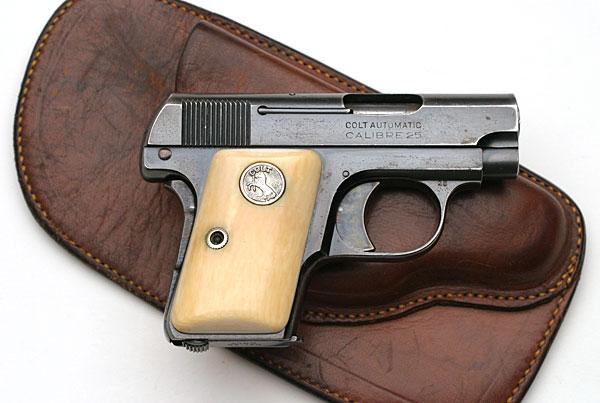 Alfonso wallet gun holster colt 1908