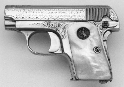 Model N Factory Engraved/Nickel Plated
