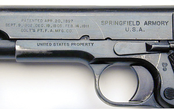 Springfield 1911 Serial Number Lookup