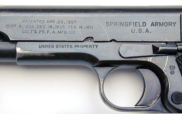 Springfield 1911 Serial Number Lookup