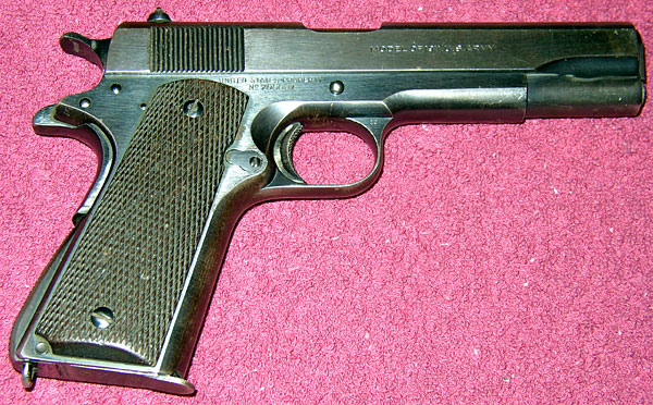 Colt Model of 1911 US Army Transition 1911A1 (M1911A1)  45 ACP WTG