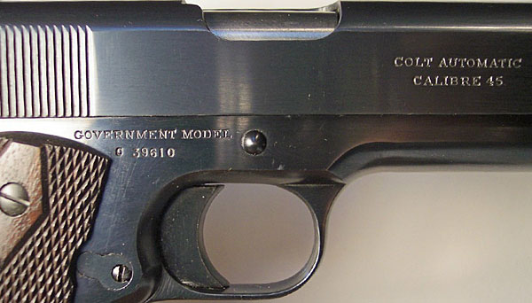 colt 1911 serial number check