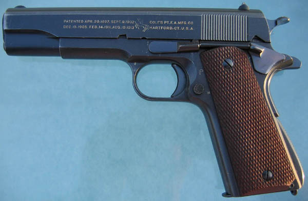 Colt M1911A1 U.S. ARMY 1938 Contract
