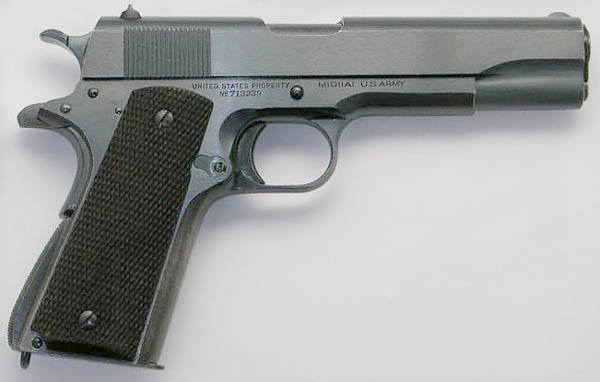 Colt Model 1911A1 S/N 713239 1938 Contract
