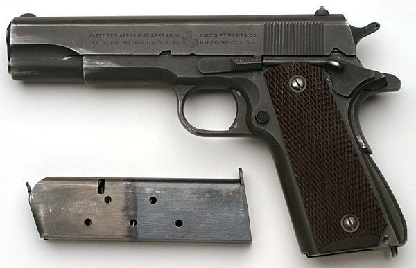 Colt M1911A1 U S  Army (1911A1)  45 ACP 1942 US Army Contract No