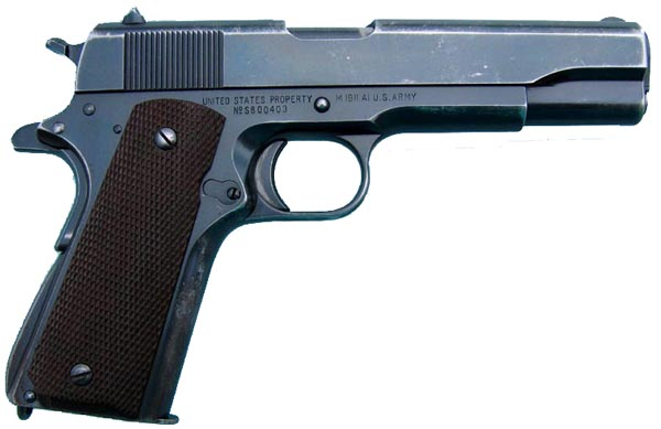 Singer 1911A1 - Right side
