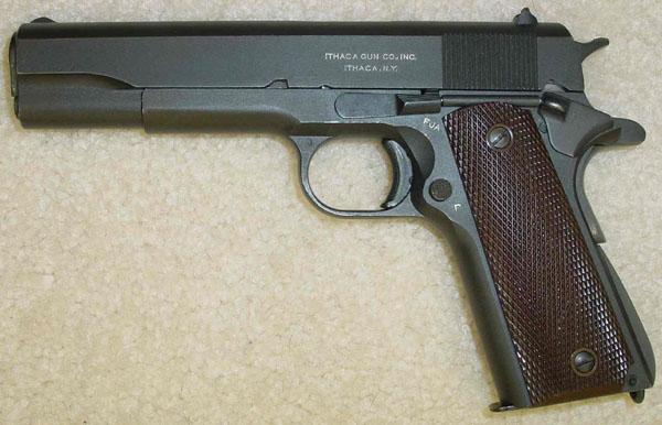 Ithaca Model 1911A1 (M1911A1) U S  Army  45 ACP FJA 1945