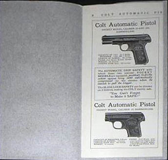 Colt Automatic Pistol Caliber .45 Military Model 1911 - Contents
