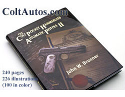 Click here to purchase Colt Pocket Hammerless Automatic Pistols II