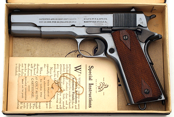 Colt Pistols and Revolvers for Firearms Collectors ...