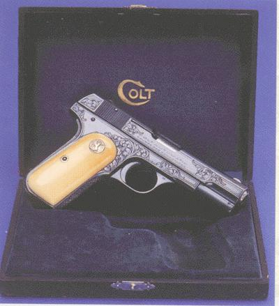 Factory Engraved Model M .380 in Presentation Case