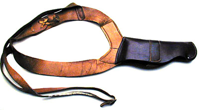 Period H.H. Heiser shoulder holster for Colt Model M .32/.380 ACP
