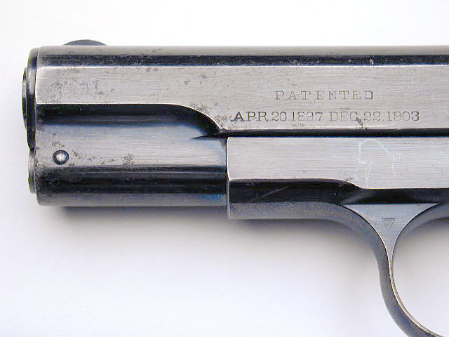 Colt Model M .380 ACP Serial Number 1