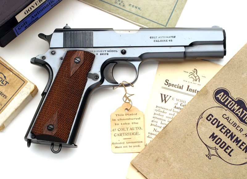 Colt Automatic Pistol and Revolver Information - 22 years of