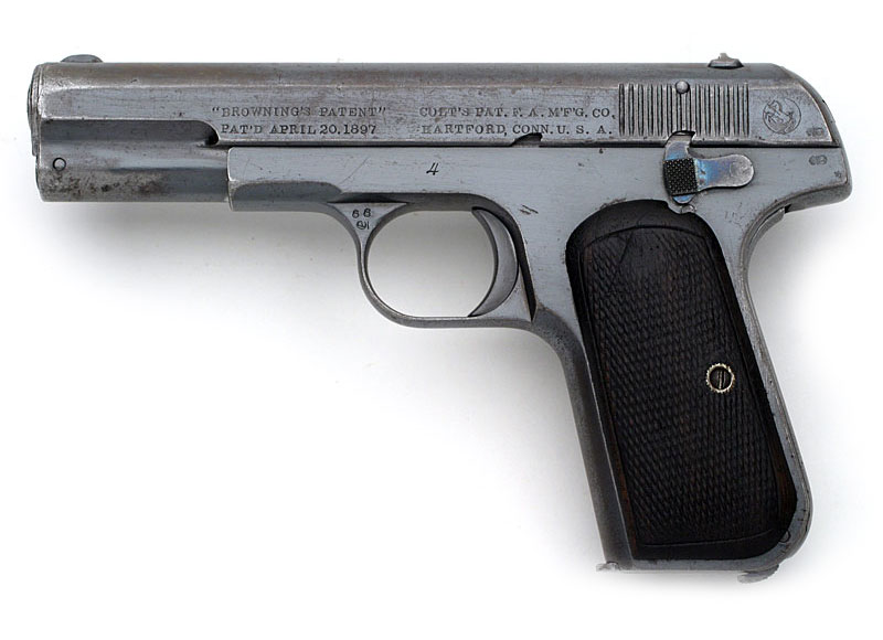 Colt 1903 Pocket Hammerless .32 ACP Serial Number 4.
